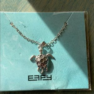 Turtle Necklace by Effy